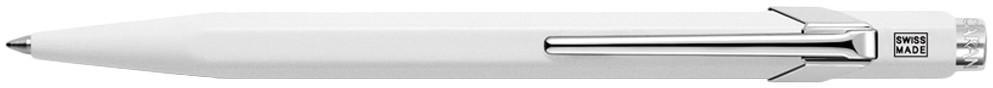 Caran d'Ache 849 Ballpoint Pen - Metal-X White