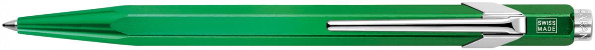 Caran d'Ache 849 Ballpoint Pen - Metal-X Green