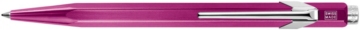 Caran d'Ache 849 Ballpoint Pen - Metal-X Violet
