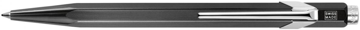 Caran d'Ache 849 Ballpoint Pen - Metal-X Black