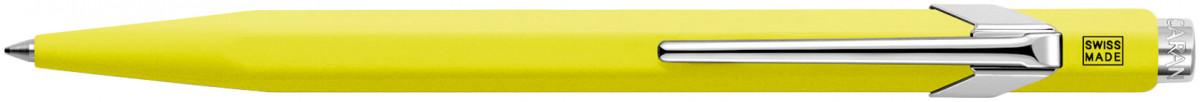Caran d'Ache 849 Ballpoint Pen - Fluorescent Yellow