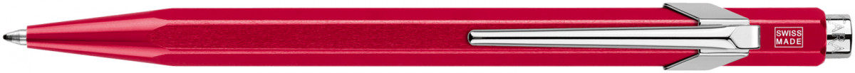 Caran d'Ache 849 Ballpoint Pen - Metal-X Red (Gift Boxed)