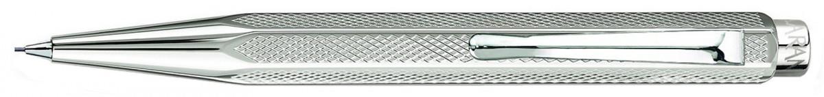 Caran d'Ache Ecridor XS Pencil - 'Retro' Silver Plated