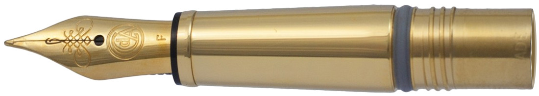 Caran d'Ache Ecridor Nib Section - Stainless Steel Gold Plated