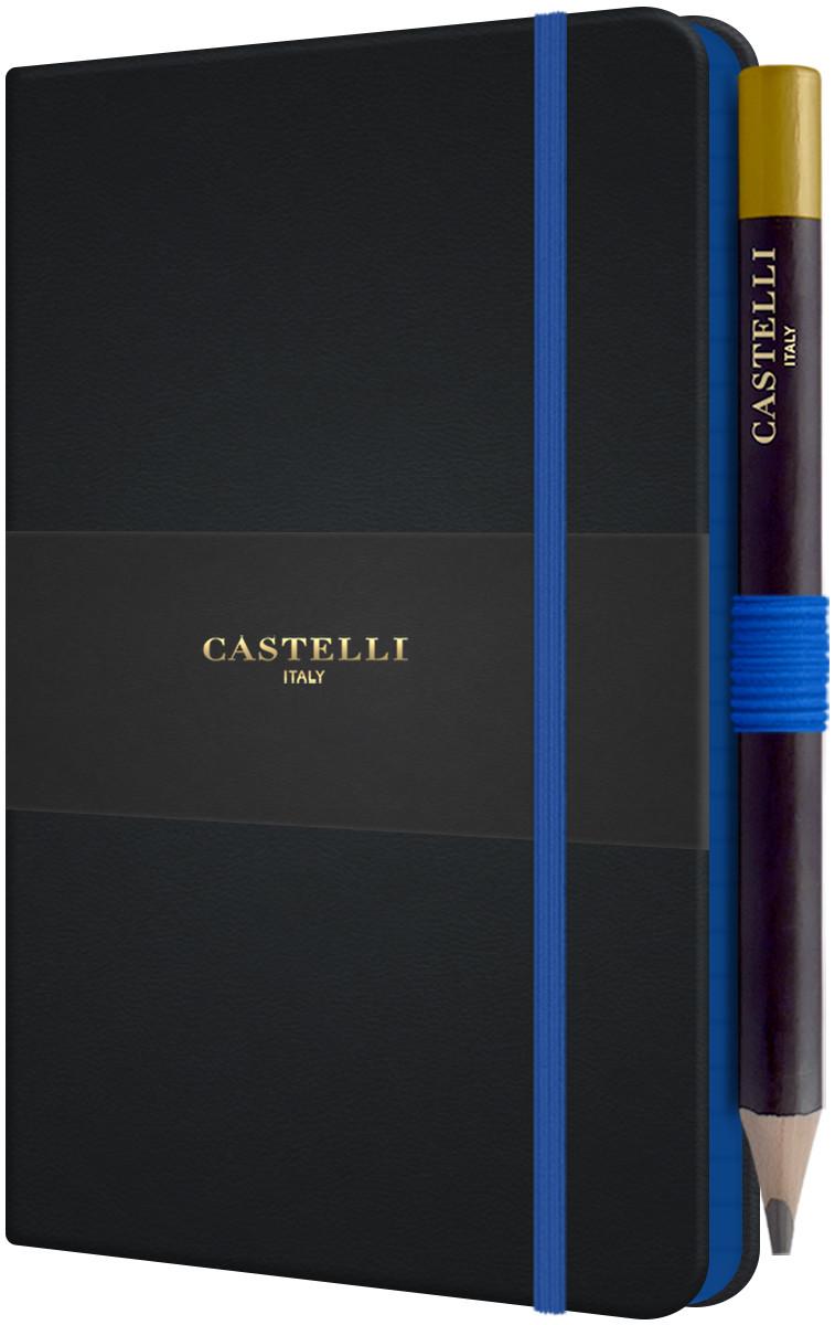 Castelli Tucson Edge Pocket Notebook - Ruled - Blue