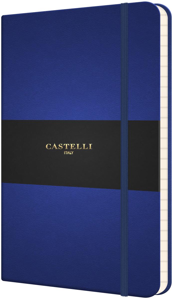 Castelli Flexible Pocket Notebook - Ruled - China Blue