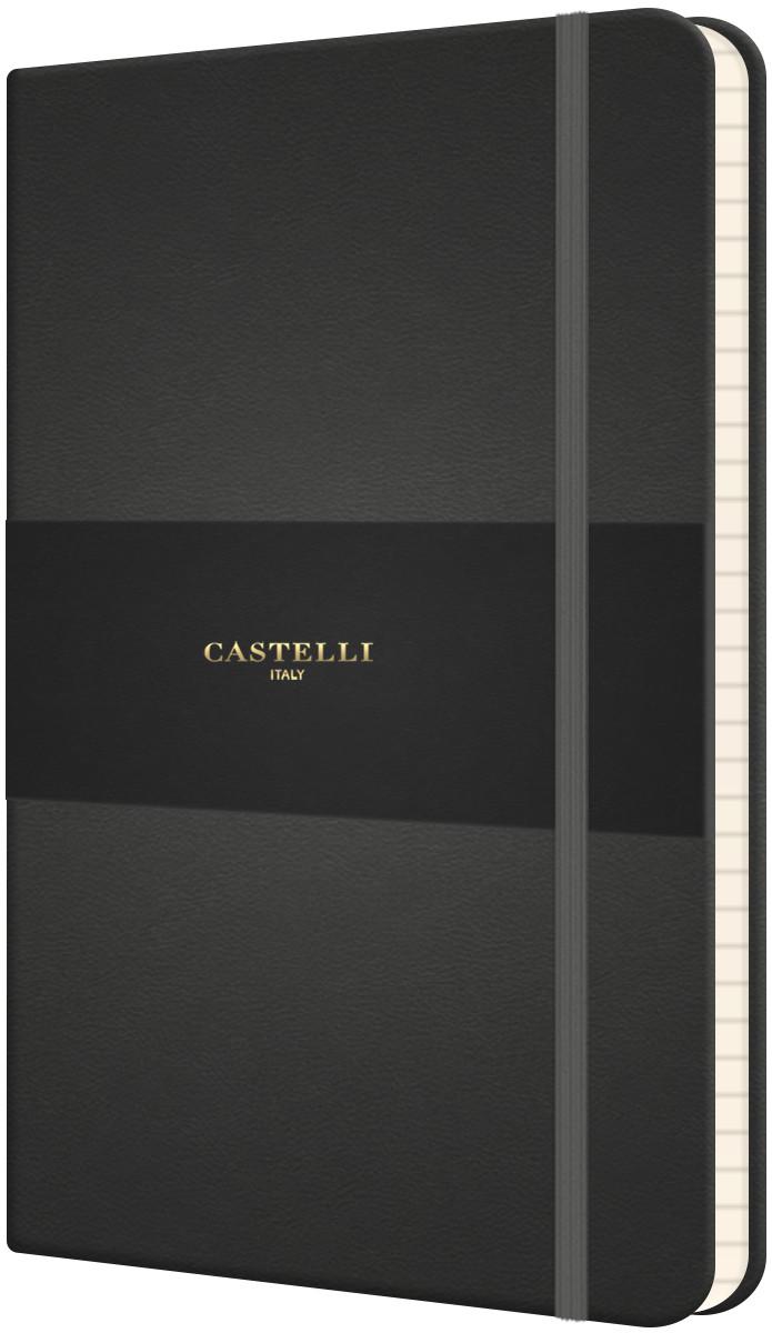 Castelli Flexible Medium Notebook - Ruled - Graphite