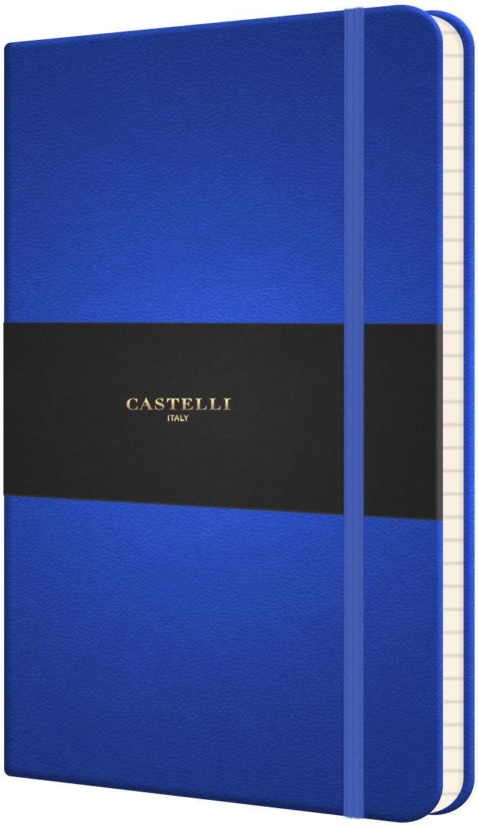 Castelli Flexible Medium Notebook - Ruled - French Blue
