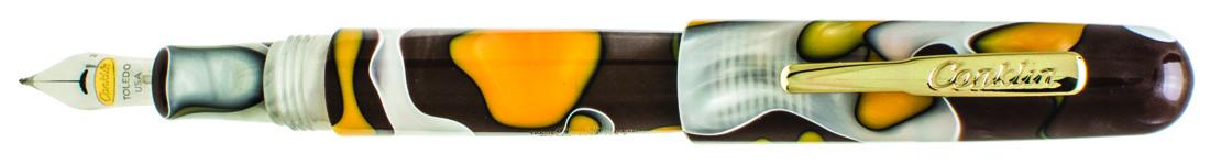 Conklin All American Fountain Pen - Yellowstone Gold Trim