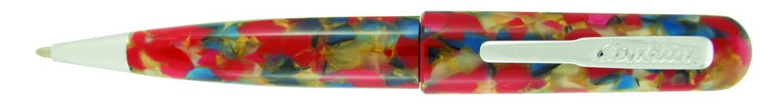 Conklin All American Ballpoint Pen - Old Glory Chrome Trim