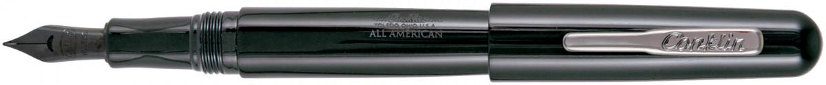 Conklin All American Fountain Pen - Raven Black