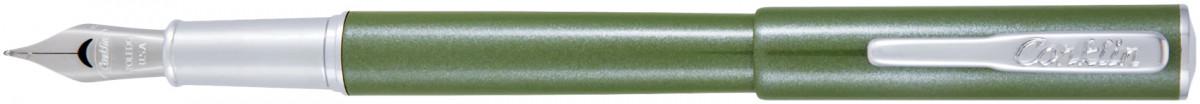 Conklin Coronet Fountain Pen - Olive