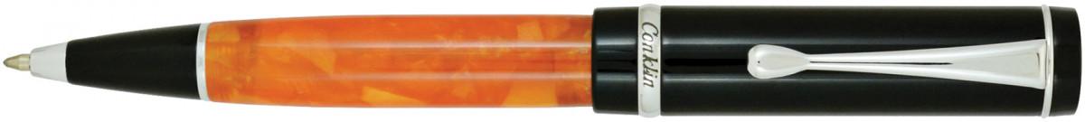 Conklin Duragraph Ballpoint Pen - Orange Nights