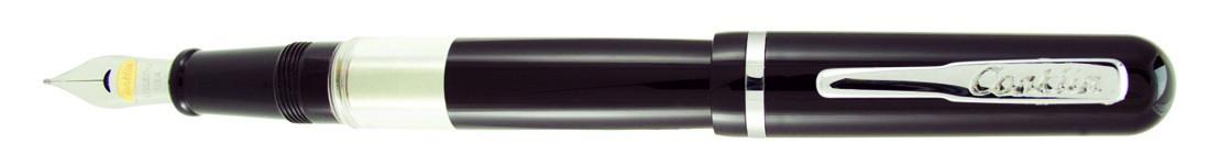 Conklin Heritage Sleeve Filler Fountain Pen - Black Chrome Trim