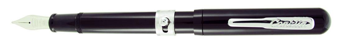 Conklin Heritage Conklinetta Fountain Pen - Black Chrome Trim