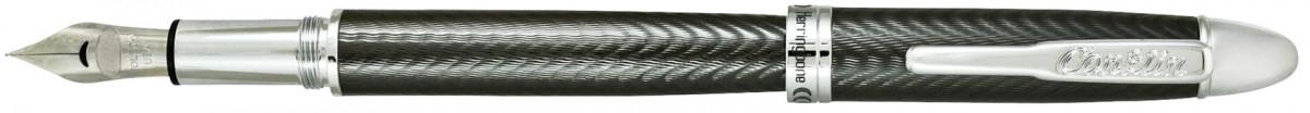 Conklin Herringbone Fountain Pen - Gunmetal