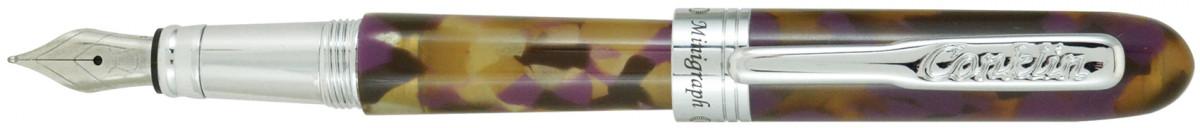 Conklin Minigraph Fountain Pen - Purple Dunes