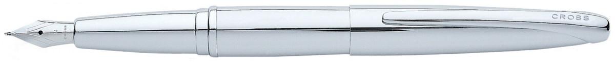 Cross ATX Fountain Pen - Pure Chrome