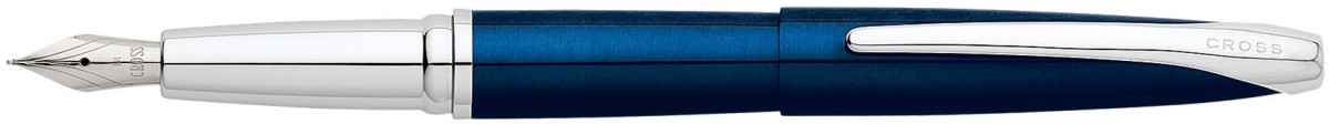 Cross ATX Fountain Pen - Translucent Blue