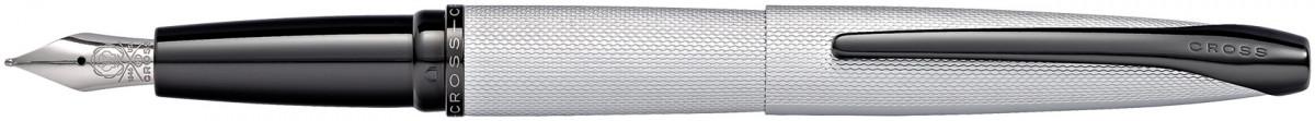 Cross ATX Fountain Pen - Brushed Chrome