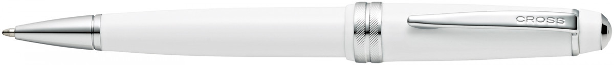 Cross Bailey Light Ballpoint Pen - White Chrome Trim