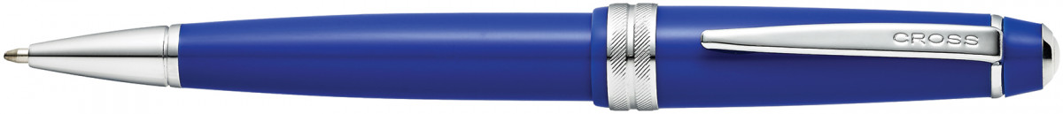 Cross Bailey Light Ballpoint Pen - Blue Chrome Trim