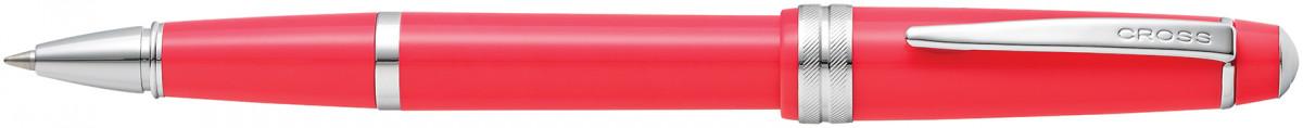 Cross Bailey Light Rollerball Pen - Coral Chrome Trim