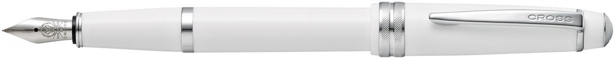 Cross Bailey Light Fountain Pen - White Chrome Trim