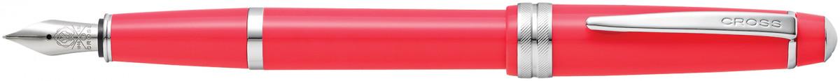 Cross Bailey Light Fountain Pen - Coral Chrome Trim