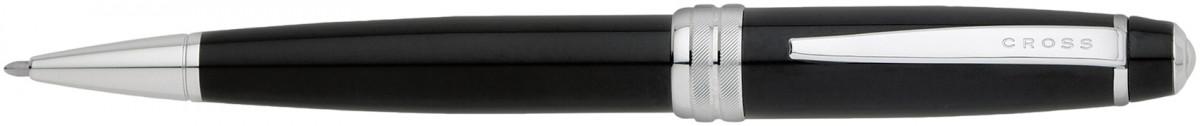 Cross Bailey Ballpoint Pen - Black Lacquer Chrome Trim