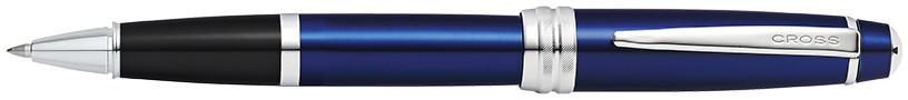 Cross Bailey Rollerball Pen - Blue Lacquer Chrome Trim