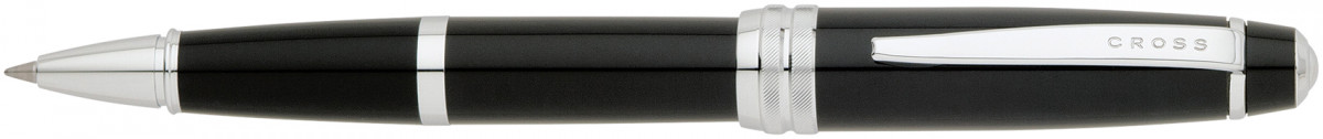 Cross Bailey Rollerball Pen - Black Lacquer Chrome Trim