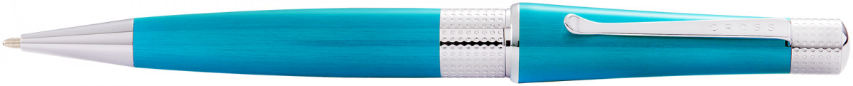 Cross Beverly Ballpoint Pen - Teal Lacquer Chrome Trim