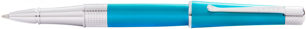 Cross Beverly Rollerball Pen - Teal Lacquer Chrome Trim