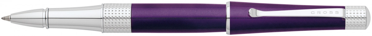 Cross Beverly Rollerball Pen - Purple Lacquer Chrome Trim
