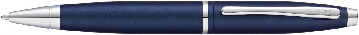 Cross Calais Ballpoint Pen - Midnight Blue Chrome Trim