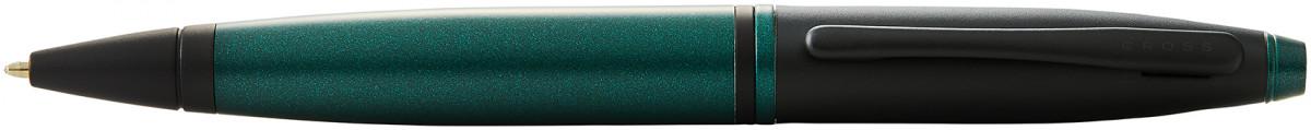Cross Calais Ballpoint Pen - Green Lacquer Black Trim