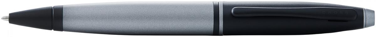 Cross Calais Ballpoint Pen - Grey Lacquer Black Trim