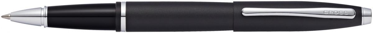 Cross Calais Rollerball Pen - Matte Black Chrome Trim