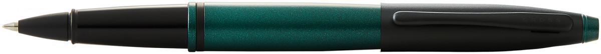 Cross Calais Rollerball Pen - Green Lacquer Black Trim