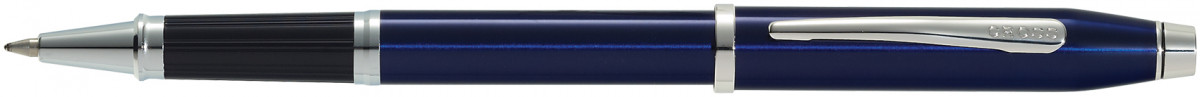 Cross Century II Rollerball Pen - Translucent Blue Rhodium Trim
