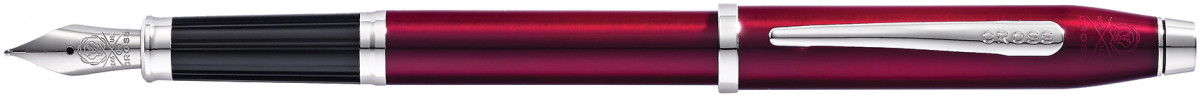 Cross Century II Fountain Pen - Plum Lacquer Chrome Trim