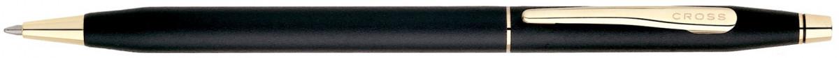 Cross Classic Century Ballpoint Pen - Classic Black Gold Trim