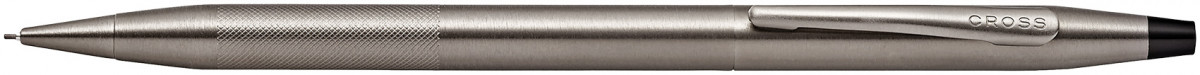 Cross Century Classic Pencil - Micro Knurled Titanium Grey