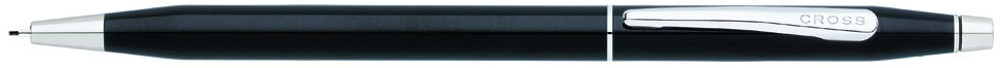 Cross Century Classic Pencil - Black Lacquer Chrome Trim