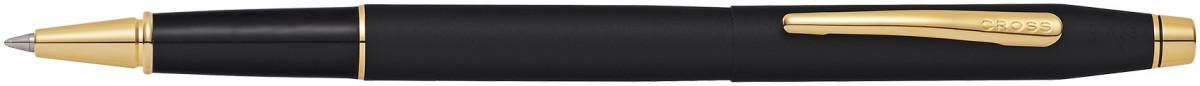 Cross Classic Century Rollerball Pen - Classic Black Gold Trim