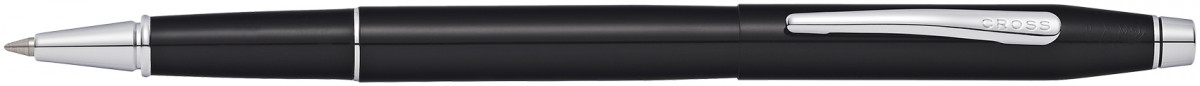 Cross Classic Century Rollerball Pen - Black Lacquer Chrome Trim