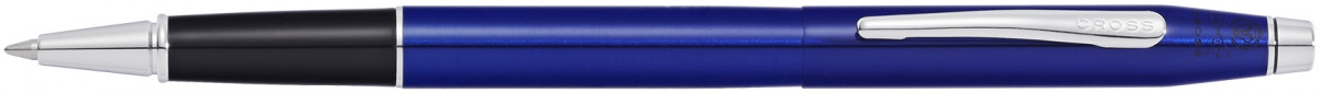 Cross Classic Century Rollerball Pen - Translucent Blue Chrome Trim