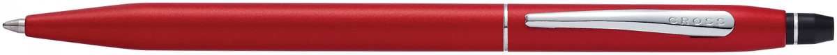 Cross Click Ballpoint Pen - Crimson Chrome Trim