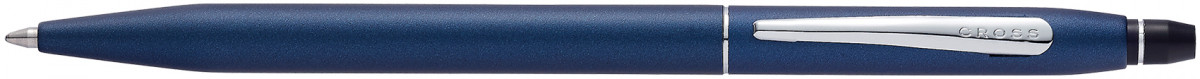 Cross Click Ballpoint Pen - Midnight Blue Chrome Trim
